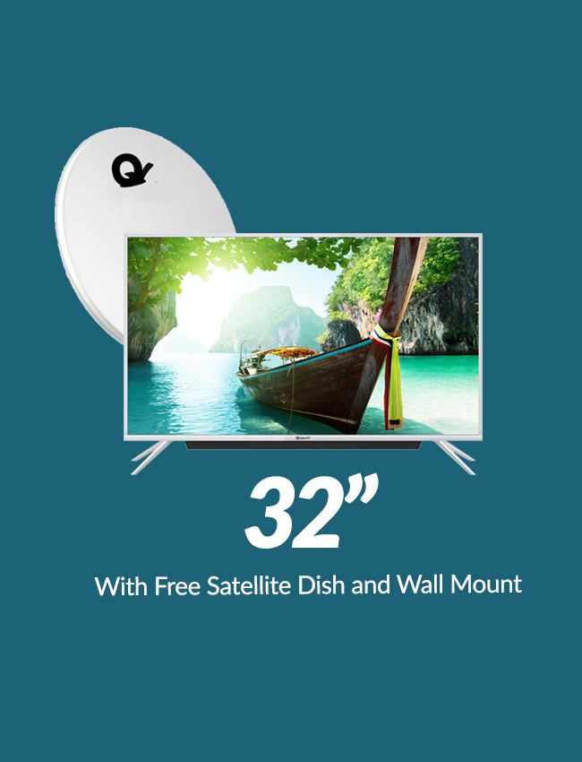Inch Quality HD Satellite LED TV With HiFi Sound Bar - Hd satellite images