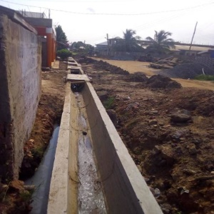 DRAINAGE WORK AT OLD NINGO TAXI RANK (LOT2)