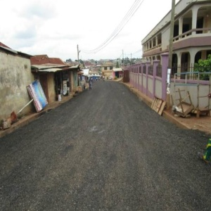 CONSTRUCTION OF TAFO ZONGO ROADS