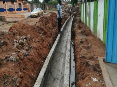 REHABILITATION OF ANNAN, AMPERE AND AGBESI CLOSE ROADS IN ASHIAMAN (1.80KM)